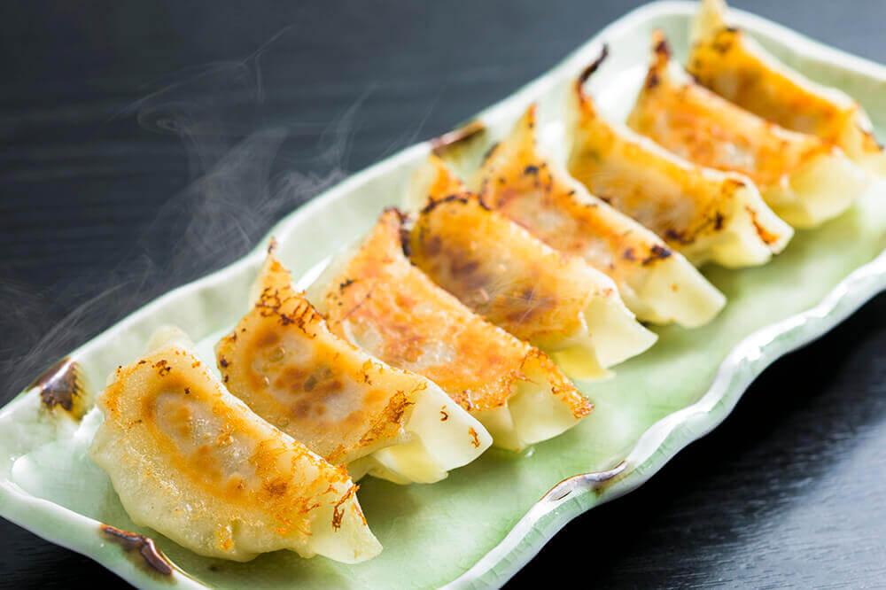 九州魂の手作り焼き餃子