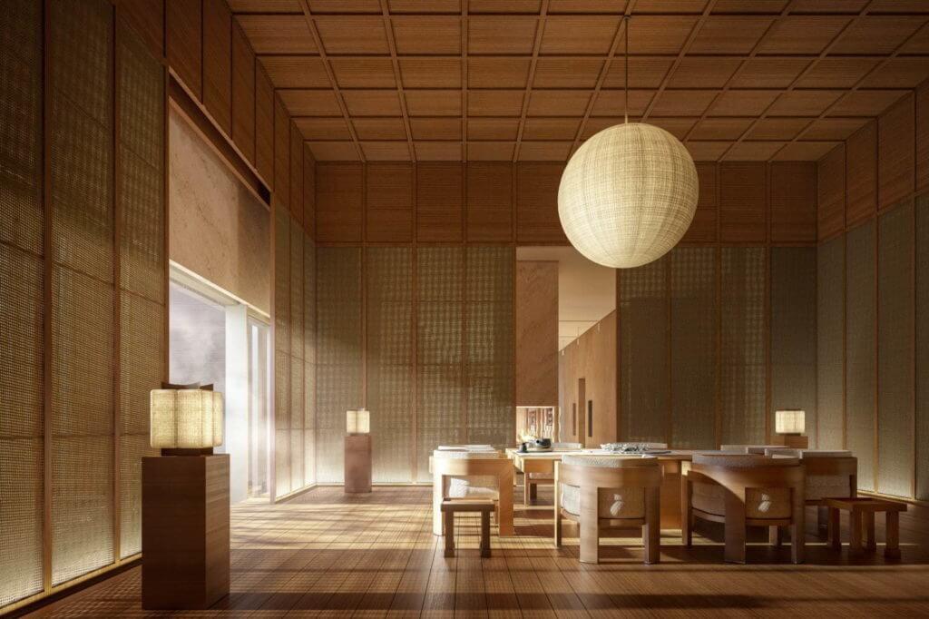 アマン ニセコの『温泉&テラス付き客室』