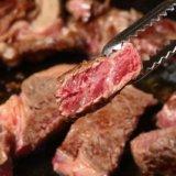 炭火で焼いた肉