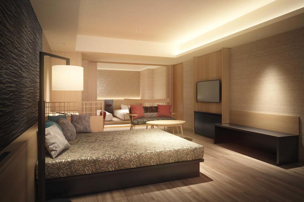 『函館湯の川温泉 海と灯(うみとあかり)/ヒューイットリゾート』-客室一例