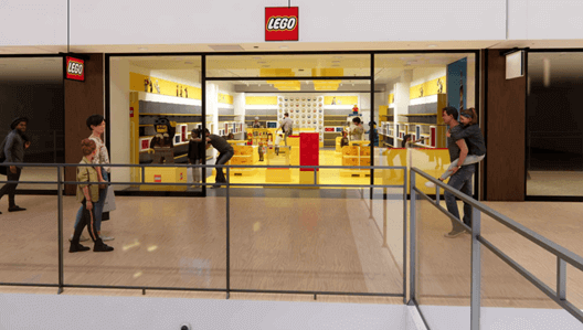 レゴ®ストア 札幌北広島店の外観