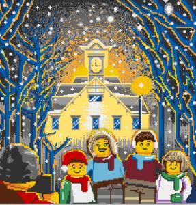 レゴ®ストア 札幌北広島店-北海道・札幌を象徴する時計台をモチーフとしたレゴブロック